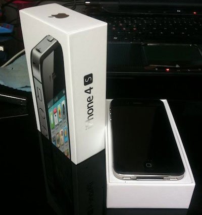 iphone4s box WOW !iPhone 4S 開箱文!?