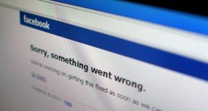 facebook issue sorry something went worng