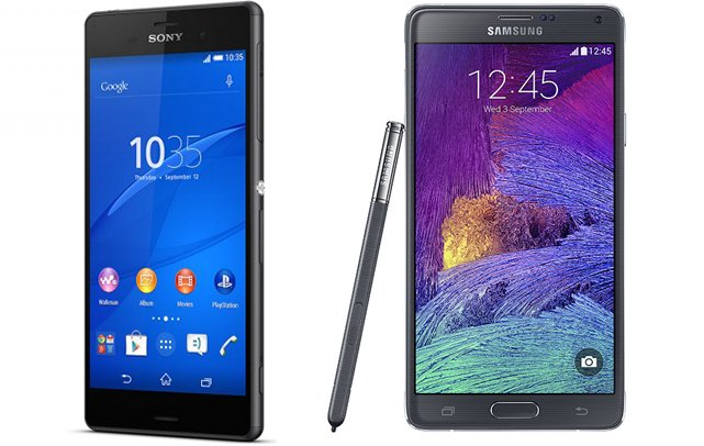 Comparison with Samsung Galaxy Note 4 and SONY Xperia Z3_00