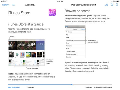 iOS 8.1 iPad - 3