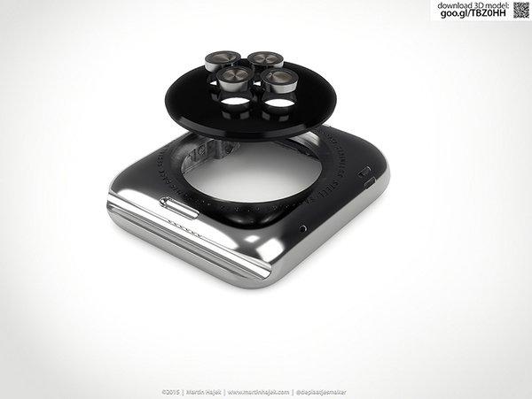無需 iFixit 了!以 3D 技術搶先「拆解」 Apple Watch