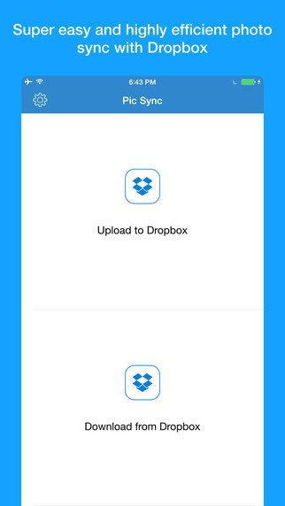how to delete pics from dropbox