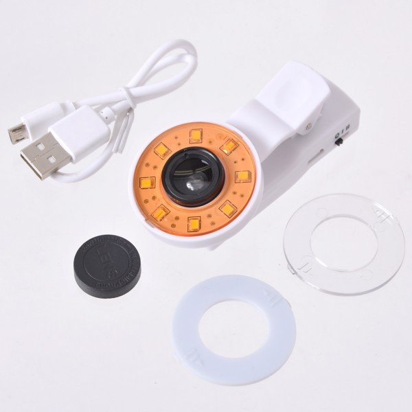 selfie round light - 2