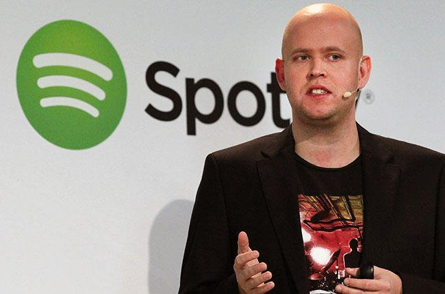 Online Music Streaming Service Spotify Holds Press Event In New York